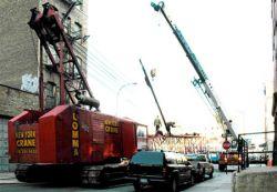Подъемные краны Нью-Йорка признаны опасными