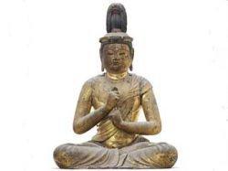 Деревянная статуя Будды продана за рекордную цену в 14,3 миллиона долларов