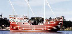 В Бразилии тонет корабль-музей