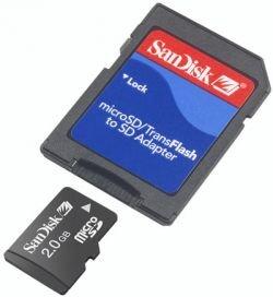 Sandisk будет продавать карты памяти с музыкой и видеоклипами