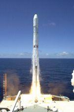 Российско-украинская ракета выводит на орбиту американский спутник