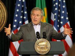 Джордж Буш вновь призвал Иран прекратить ядерные разработки