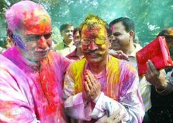 Holi, Festival of Colours - фестиваль красок Холи в Индии (фото)