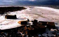 Молога - город, который находится на дне Рыбинского водохранилища (фото)