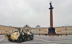 Имперская мощь. Новый имидж Питера поддержат танки на Дворцовой площади