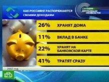 Россияне живут сегодняшним днем