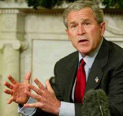 Джордж Буш попросил американцев похудеть