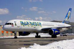 Личный самолет группы Iron Maiden (фото)