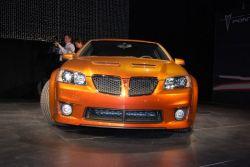 В Нью-Йорке дебютировал седан Pontiac G8 GXP