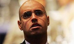 Сын полковника Каддафи - Саиф Каддафи спасает австрийских заложников