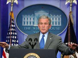 Большинство американцев недовольны деятельностью Джорджа Буша на посту президента США