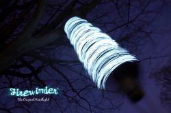 Firewinder - ветряная лампа из Великобритании (видео)