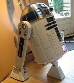 Моддинг компьютера в виде робота R2D2 (фото)