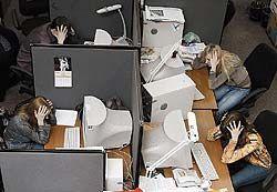 В российских офисах разразилась эпидемия невроза