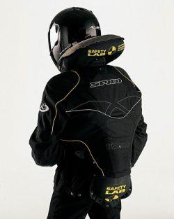 Подушка безопасности для мотоцикла (видео)