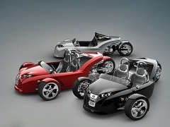 Автомобили на трёх колёсах набирают популярность