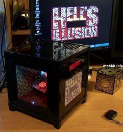 Illusion PC - компьютер с интересной визуальной иллюзией (фото)