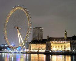 Лондонское колесо обозрения сломалось