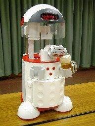 Первый в мире пивной робот Asahi Beer Bot