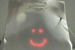 Сумка Ladybag улыбается по мере наполнения