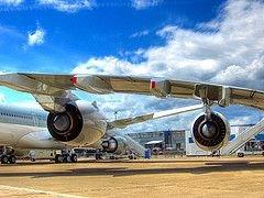Самый большой пассажирский лайнер Airbus SAS A380 вновь не смог взлететь