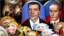 Президент Египта Хосни Мубарак: Путин и Медведев практически одинаковые