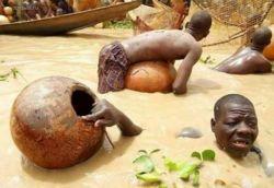 Особенности коллективной рыбалки в Нигерии (фото)