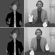 Аватар повторит жесты человека