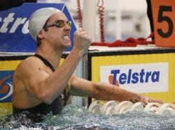 Австралиец Имон Салливан вернул себе мировой рекорд на 50-метровке вольным стилем