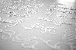Сахарные надписи от Мэриан Бантжез (Marian Bantjes) (фото)