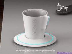Cup PC: концепт компьютера будущего