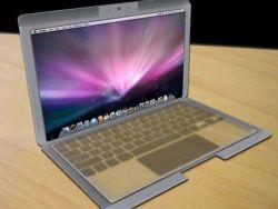 Концепт MacBook Touch с прозрачным дисплеем