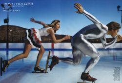 Модели и спортсмены: фотосессия Энни Лейбовиц Dream Teаm (фото)