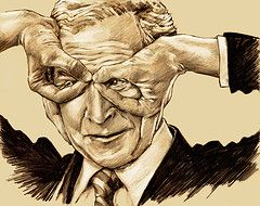 Украинские националисты встретят Джорджа Буша «матерным флэш-мобом»