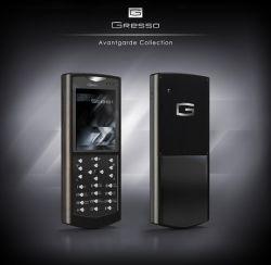 Новые телефоны Gresso — авиационная сталь и черное дерево