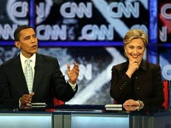 Главный демократ США попросил Хиллари Клинтон и Барака Обаму помириться
