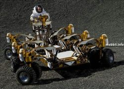 Лунная колесница – транспортное средство, которое покорит Луну (видео)