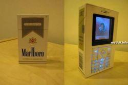 Телефон в виде пачки Marlboro (фото)