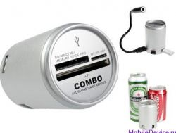 Кард-ридер и USB-хаб в алюминиевой банке от Brando