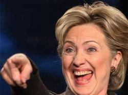 Хиллари Клинтон приняла участие в акции протеста дальнобойщиков