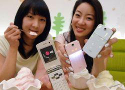 """LG \""""Ice Cream Phone\"""" – телефон для тех, кто соскучился по лету"""