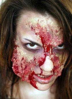 Конкурс по созданию грима для фильмов ужасов (фото)