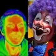 Британцы научно обосновали раскраску клоуна