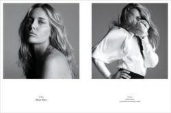 Знаменитые модели до и после макияжа (фото)
