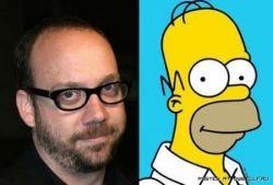 Звёзды, похожие на героев мультфильма «The Simpsons» (фото)