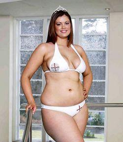 Новой «Мисс Англия» станет толстушка? (фото)