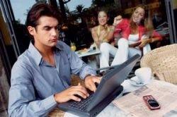 Работа в интернет кафе