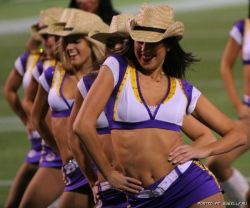 Девушки из группы поддержки команды Vikings (фото)