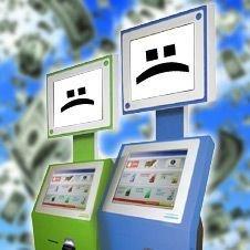 Платежных терминалов может стать в два раза меньше