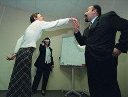 Половина менеджеров страдает от притеснений на рабочем месте